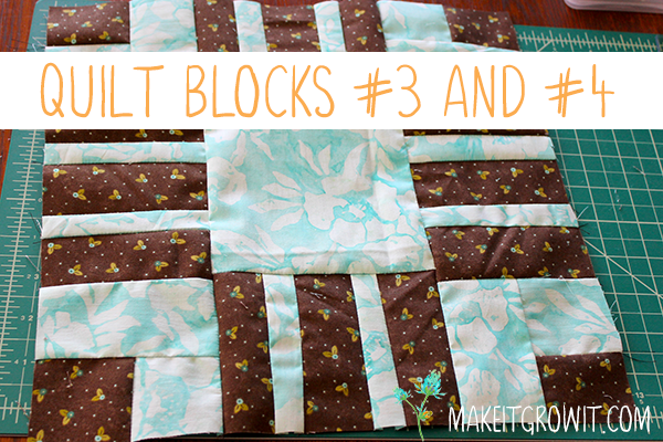 Quilt Blocks #3 and #4