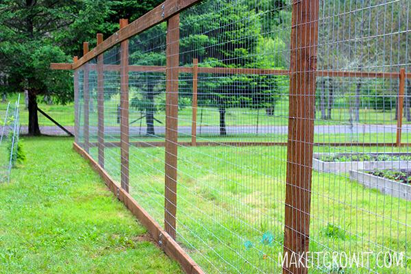 new deer fencing